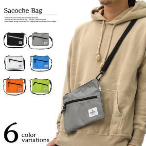 サコッシュ カジュアルバッグ REGiSTA バッグ レジスタ 鞄 メンズ レディース ユニセックス ポーチ ナイロン 小型 ブラック ブルー オレンジ グレー ホワイト|smartbiz
