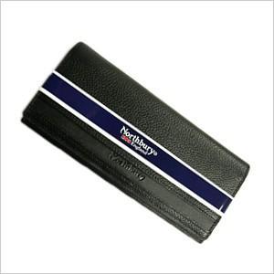 長財布 牛革 札入れ メンズ 紳士用 レザー 財布 サイフ ウォレット ブラック 黒|smartbiz