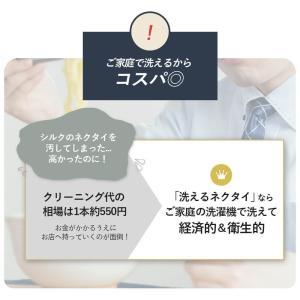 ネクタイ メンズ 5本セット 組み合わせ自由 ウォッシャブル 洗える 紳士用 送料無料 ストライプ チェック ブルー ピンク|smartbiz|07