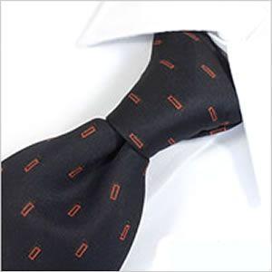 ネクタイ レギュラー メンズ 紳士用 洗える ウォッシャブル 洗濯可 デザイン ネイビー 小紋柄|smartbiz
