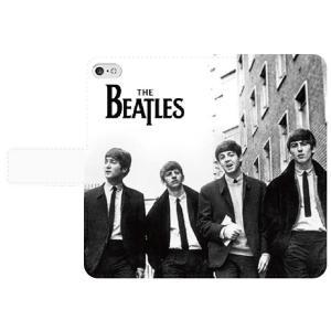 ビートルズ 手帳型 スマホケース iPhone7 iPhone6s Plus Xperia 全機種対応型 smartgadget