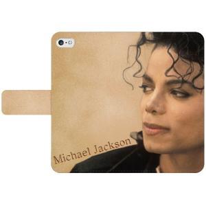 マイケル・ジャクソン 手帳型スマホケース iPhone7 iPhone6s Plus Xperia 全機種対応型 smartgadget