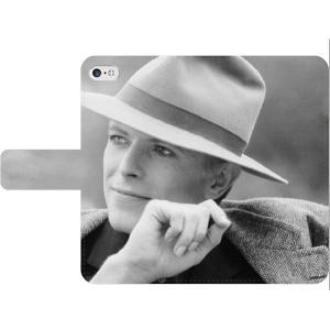 デビッド・ボウイ 手帳型スマホケース iPhone7 iPhone6s Plus Xperia 全機種対応型 smartgadget
