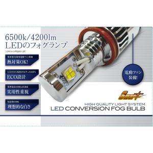 【輸入車対応キャンセラー内蔵】Smart スマート LEDフォグライト LEDCONVERSIONFOGBULB 6500k|smartled