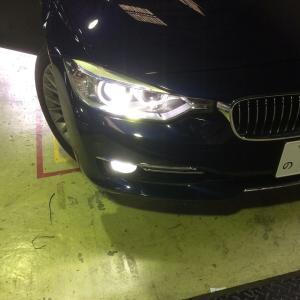 【BMW 3シリーズ F30】フォグライトにLED Smart スマート LEDCONVERSIONFOGBULB|smartled