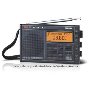 TECSUN PL-600 SSB ハイエンド短波ラジオ ポータブルBCL受信機 FMステレオ/LW...
