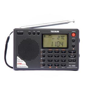 TECSUN PL-380 高感度ラジオデジタル PLL ポータブルラジオFM ステレオ/LW/SW...