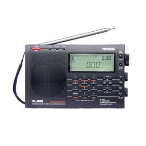 TECSUN PL-660 PSE 100V ACアダプター付属 BCLラジオ FM/MW/SW/A...