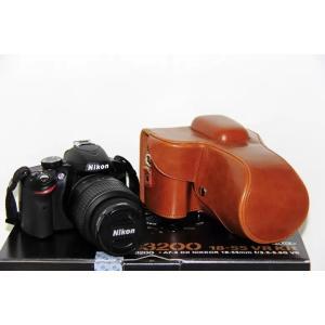 Nikon D3300 ケース カメラケース D3200 カメラバック バック カバー D3100 レザーケース