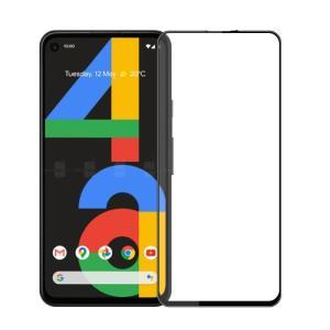 Pixel4a 5G softbank 全面保護フィルム google Pixel 4a 5G ガラスフィルム グーグル ピクセル フォーエー with 5g 強化ガラス 9H 全画面保護 メール便 送料無料|smartnet
