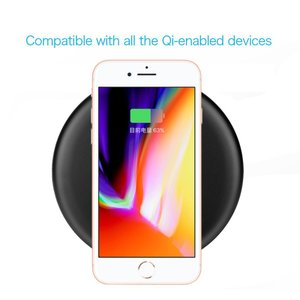 iphonex Qi 充電器 iphone8 ワイヤレス充電 ワイヤレス充電器 iphone8 plus iphone8plus 急速 ワイヤレス 充電  galaxy s8 s8+ note8 s7 edge スマホ smartnet