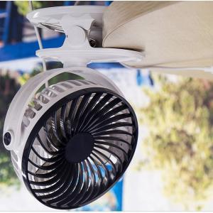 卓上扇風機 小型 扇風機 クリップ  2way   携帯扇風機 携帯  冷風扇  車用 ミニ扇風機 360℃回転 風量調節 携帯便利 熱中症対策 グッズ メール便送料無料 smartnet