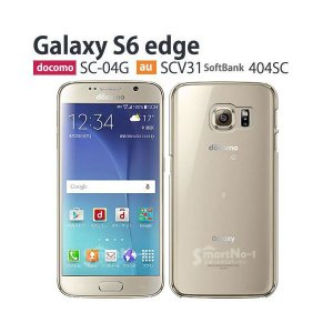 c6767d8c10 GalaxyS6edge 保護 フィルム 付き Softbank Galaxy S6 edge ケース カバー 404SC 耐衝撃 SC-04G  SCV35 スマホケース デコ ギャラクシーS6エッジ クリア