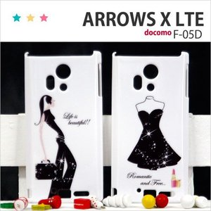 F05D 保護フィルム付き) ARROWS X LTE F-05Dカバー F-05D ケース F05D スマホケース アローズ ケース F05D スマホカバー F05D ディズニー F-05D クリア FASHION