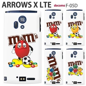 F05D 保護フィルム付き) ARROWS X LTE F-05Dカバー F-05D ケース F05D スマホケース アローズ ケース F05D スマホ F05D ディズニー F05D SOCCER F05D m&m