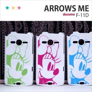 F11D 保護フィルム付き) ARROWS ME F-11Dカバー F-11D ケース F11D スマホケース アローズ ケース F11D スマホカバー F11D ディズニー F11D クリア F11D MK6