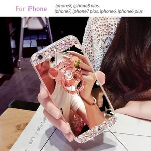 iphone6 plus 保護フィルム付き)iphone 6 plus ケース カバー スマホケース アイフォン6プラス アイホン6プラス iphone6 iphone6s plus   stonemirror