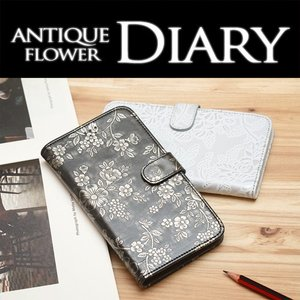 GALAXY NOTE3 SCL22 保護フィルム付き)au GALAXY NOTE3 SCL22 ケース カバー 手帳 手帳型 手帳型ケース フィルム ギャラクシーノート3 SCL22  ANTIQUE