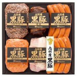 ハムギフト 日本ハム 九州産黒豚 ( NO-50 ) メーカー直送・送料無料 ニッポンハム パストラミポーク 焼豚 | ギフト お祝い 内祝い お返し|smartoffice|02