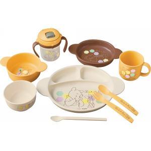 くまのプーさん ベビー食器セット 114945 (-0385-082-)   内祝い ギフト お祝 smartoffice
