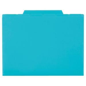 セキセイ アクティフ 6インデックスフォルダー A5 ブルー ACT-506-10 (×5冊セット) (t2)|smartoffice