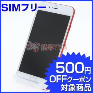 SIMフリー iPhone7 128GB (PRODUCT)RED J/A  C+ランク 中古 本体...