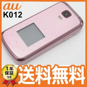 白ロム au KY012 K012 ピンク 本体 ガラケー 中古 携帯電話 1年保証つき あすつく対応 11/11金