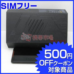 SIMフリー ROG Phone (ZS600KL) 128GB ブラック  スマホ 中古  美品 ...