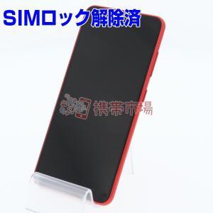 SIMフリー docomo SC-02M Galaxy A20 レッド 美品 Aランク 中古 本体 ...