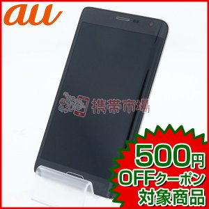 au SCL24 GALAXY Note Edge Charcoal Black  スマホ 中古  ...