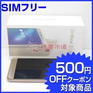 SIMフリー ZenFone 3 Laser (ZC551KL) ゴールド  スマホ 中古  美品 ...