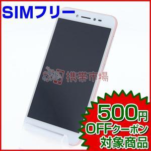 SIMフリー ZenFone Live (ZB501KL) ローズピンク  スマホ 中古  美品 保...