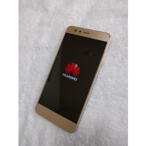 ほぼ新品 HUAWEI P10 lite プラチナゴールド SIMフリー 本体  ファーウェイ PlatinumGold|smartvalue-pro