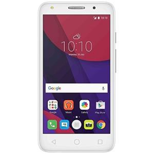 ALCATEL SIMフリースマートフォン PIXI 4 メタルシルバー 5045F-2EALJP1-WH 新品|smartvalue-pro