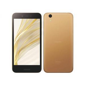 【未使用品】AQUOS sense lite SH-M05 (ゴールド) シャープ 5.0インチ SIMフリースマートフォン SH-M05-N 新品A|smartvalue-pro