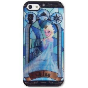 アナと雪の女王 ステンドグラス柄 iPhone5s/5対応 ...
