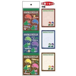 おそ松さん2 3Pメモ帳 おそ松さん2 ウッド|smazakplus