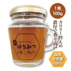 日本ミツバチの純はちみつ 100g 国産はちみつ ハチミツ 日本ミツバチ smcknekou