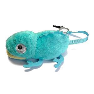 カメレオンクリーナー 青 ブルー ストラップ 携帯 スマホ 液晶 メガネ等も拭ける