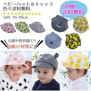 ベビー 帽子 耳付き 赤ちゃん ハット hat cap 可愛い クマ 無地 ニット キャップ 新生児 セール 45-48cm 送料無料