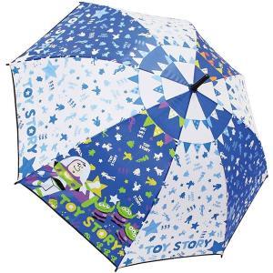 子供 雨 傘 キッズ キャラクター 小学生 男の子 女の子 ワンタッチ ジャンプ傘 トイストーリー 55cm 入園入学|smile-baby