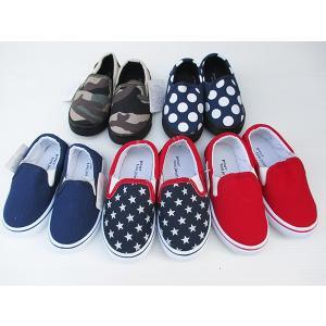 超特価セール 全5種類 総柄 無地柄 スリッポン 上履き 運動靴にピッタリ14cm 16cm|smile-baby