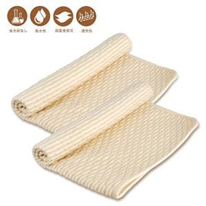 おねしょシーツ 防水シーツ ベビー 通気性 2枚セット おむつ替えシート 天然綿100% シングル キルトパッド お|smile-box