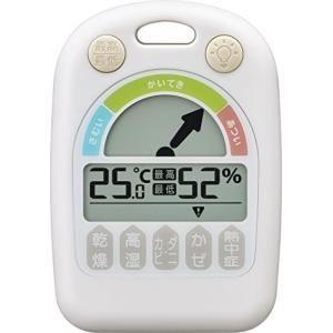 NOA(ノア) MAG デジタル温湿度計メリー ホワイト N-025 WH-Z|smile-box