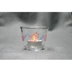 キャンドルホルダー ハイビスカス candle holder hibiscus ハンドメイド handmade オリジナル加工 エッチング&カラーリ|smile-box
