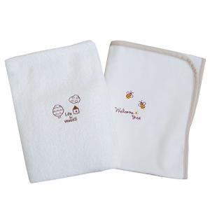 ベビー用綿毛布&タオルケットセット 日本製|smile-box
