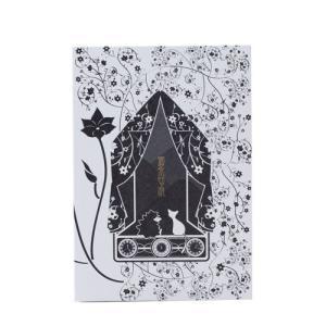 【御朱印帳】黒猫&ハリネズミ with CoLoR|smile-box