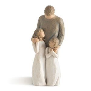 ウィローツリー彫像 [My Girls] 娘に囲まれて 26232 smile-box