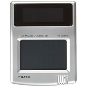 ソーラーデジタル温湿度計 PC-5200TRH|smile-box