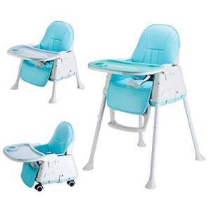 【DEARGENA】赤ちゃん用 ベビーチェア ハイチェア 赤ちゃん用 多機能 子供 お食事椅子 折りたたみ 専用クッショ smile-box